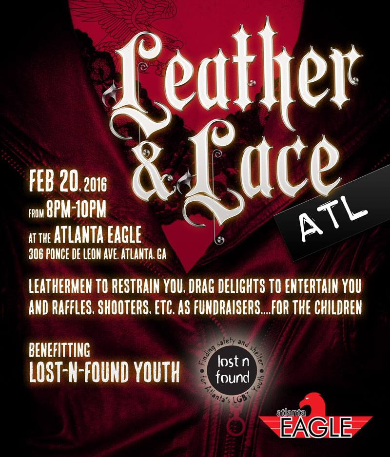 Lost N Found Youth: Leather & Lace – ATL