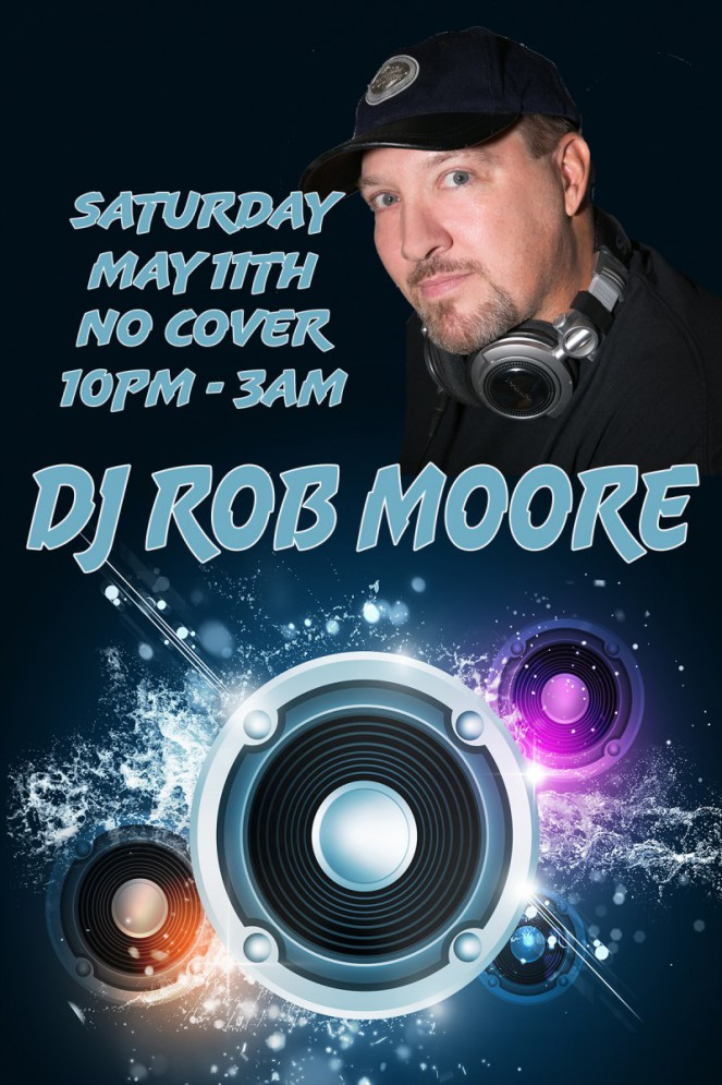 DJ Rob Moore May 2019 w